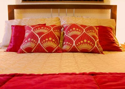 Spacious double bedroom at the Ad Astra Guesthouse