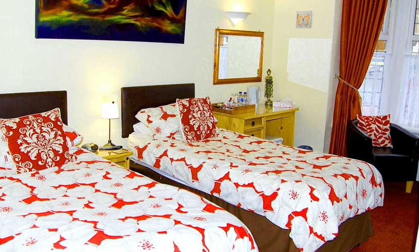 View bedrooms at the Ad Astra Guesthouse
