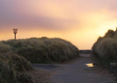 Sand Dunes at sunset - St Annes on Sea Lancashire