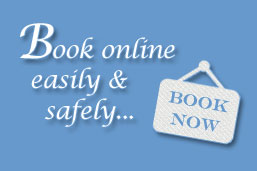 Book online quickly and securely