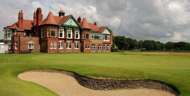19th Hole at Royal Lytham St Annes golf course